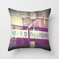 All I remember from last night Throw Pillow