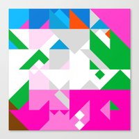 Triangle New Canvas Print