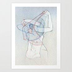 Doble obs. Art Print