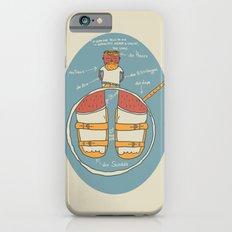 der Strumpf, die Sandale. Slim Case iPhone 6s