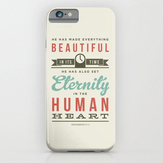 He has made everything beautiful iPhone & iPod Case