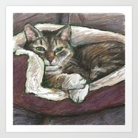 Pet Portrait 1  Art Print
