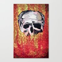 Skully. Canvas Print