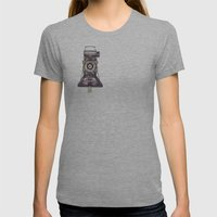 Kershaw Eight-20 King Pe… Womens Fitted Tee Athletic Grey SMALL