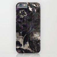 goth peony iPhone 6 Slim Case