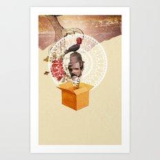 Jack Box  Art Print