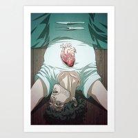Remarkable Boy (Will Graham) Art Print