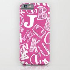 A-Z Slim Case iPhone 6s