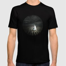Abandoned Innocence Mens Fitted Tee SMALL Black