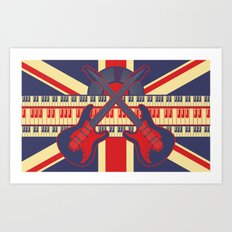 British Rock Art Print