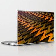 3D Chevrons Laptop & iPad Skin