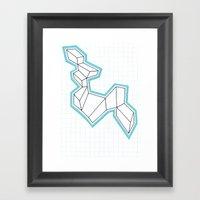 GeoMania. Framed Art Print