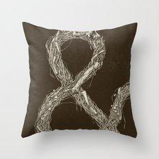 &,&,&: Part 1 Throw Pillow