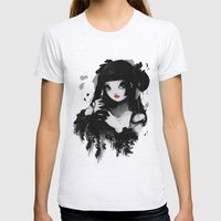 L'Oiseau Silence Womens Fitted Tee Ash Grey SMALL