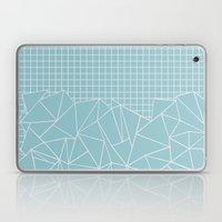 Ab Outline Grid Salty Laptop & iPad Skin