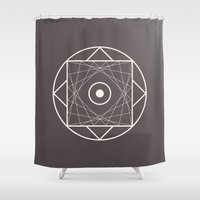 Message  Shower Curtain