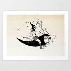 Joyous Flight Art Print