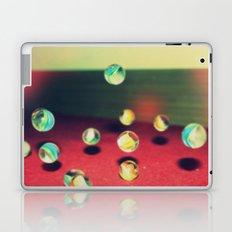 Retro Marbles Laptop & iPad Skin