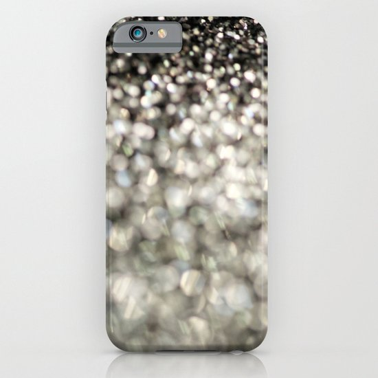 A mix of Black and Silver - an abstract photograph iPhone & iPod Case