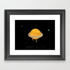 Space ballet Framed Art Print