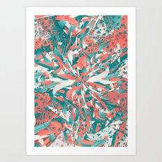 Pastel Explosion Art Print