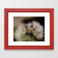 Fluffy Framed Art Print