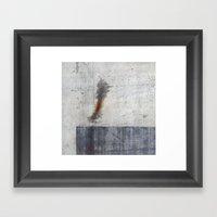 Metal Sky I Framed Art Print