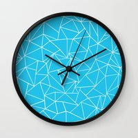 Ab Outline Electric Wall Clock
