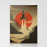 The Voyage (Grey) Stationery Cards