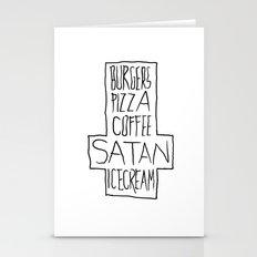 pizza & moar Stationery Cards