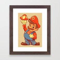 SHIGERU'S BIG BOY Framed Art Print