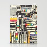Stationery Cards featuring VHS by HOLLIS BROWN THORNTO…