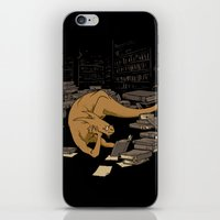 The Book Wyrm iPhone & iPod Skin