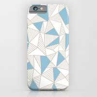 Ab Nude Lines With Blue … iPhone 6 Slim Case