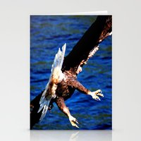 Eagle: The Back Side Of … Stationery Cards
