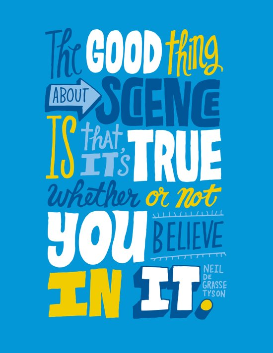 The Good Thing About Science Canvas Print