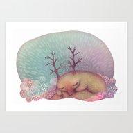 Deep Winter Dreaming (Wi… Art Print