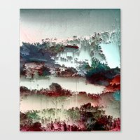 Untitled tree scene Canvas Print