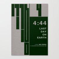 4:44 - MINIMALIST POSTER Canvas Print