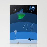 Sputnik Sweetheart Stationery Cards