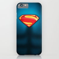 iPhone & iPod Case featuring Man of Steel Suit by Roboz