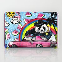 Miami Panda iPad Case