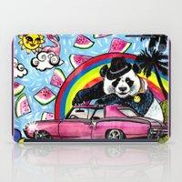 Miami Panda iPad Case