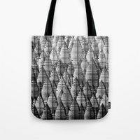 Federwald (monochrome Se… Tote Bag