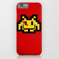 iPhone & iPod Case featuring Who Watches The Invaders? by Jason van Zwieten