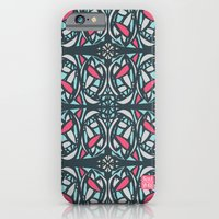 iPhone & iPod Case featuring Stained Glass Tile by Femi Ford