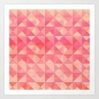 Pink : Pattern Art Print