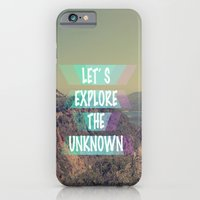 iPhone & iPod Case featuring EXPLORE by AA Morgenstern
