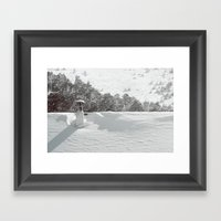 It's Winter Framed Art Print