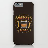 iPhone & iPod Case featuring Whisky Please by Sam Lyne